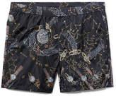 Valentino + Zandra Rhodes Lunar Punk Mid-Length Printed Swim Shorts