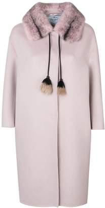 Prada tassel detail coat