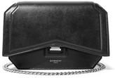 Givenchy Bow Cut Leather Shoulder Bag - Black