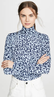 525 America Leopard Turtleneck