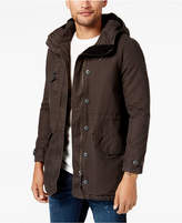 RVCA Men's Ground Control Fleece-Lined Hooded Parka