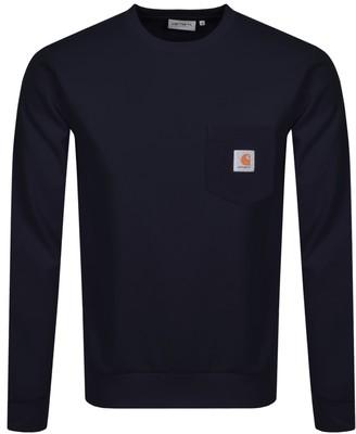 Carhartt Pocket Sweatshirt Navy