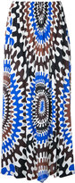 Emilio Pucci printed skirt - women - Silk/Rayon - 40