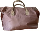 Lancel Pink Cloth Travel bags