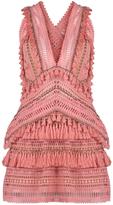 Thurley Fox Trot V-Neck Mini Dress