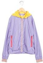 Stella McCartney Girls' Hooded Windbreaker Jacket