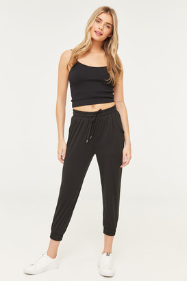 Ardene Cropped Super Soft Joggers