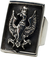 Femme Metale Jewelry Falcon Crest Ring