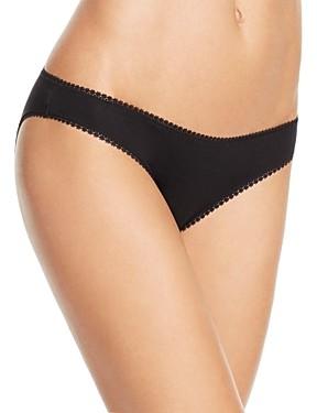 OnGossamer Cabana Cotton Stretch Hip Bikini