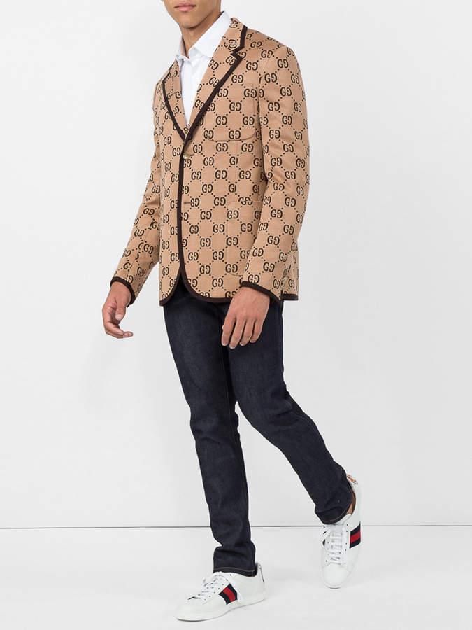 Gucci Gg supreme blazer