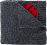 Dolce & Gabbana ladybug knitted scarf