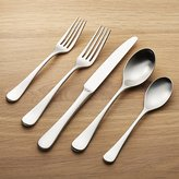 Crate & Barrel Caesna Satin 5-Piece Flatware Place Setting