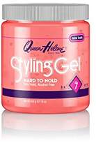Queen Helene Styling Gel, Hard To Hold, 16 Ounce [Packaging May Vary]