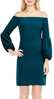 Vince Camuto Women's Blouson Sleeve Dress
