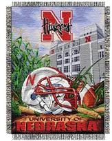 NCAA Nebraska Cornhuskers Home Field Advantage College Throw