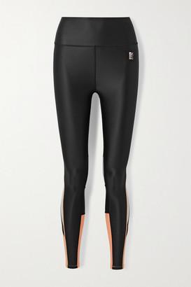 P.E Nation All Sports Color-block Stretch Leggings - Black