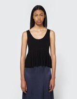 Nora Knit Tank in Black