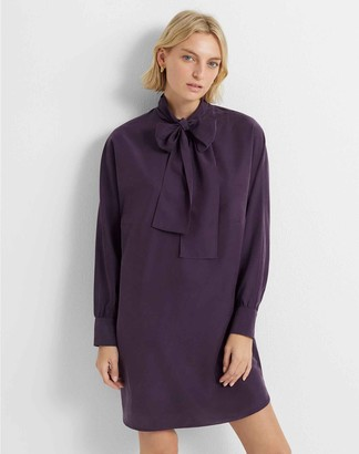 Club Monaco Tie-Neck Dress