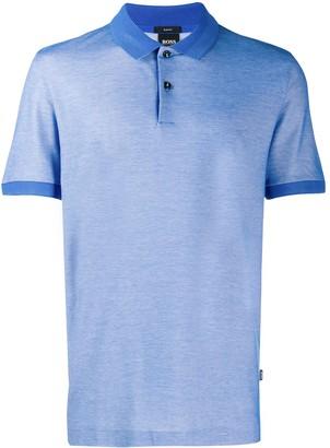 HUGO BOSS Mesh Details Polo Shirt