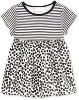 First Impressions Baby Girls' Stripes & Dots Babydoll Tunic, Only at Macy's