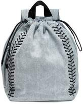 3.1 Phillip Lim Lace-Up Denim Backpack