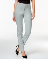 Style&Co. Style & Co Tummy-Control Slim-Leg Pants, Only at Macy's