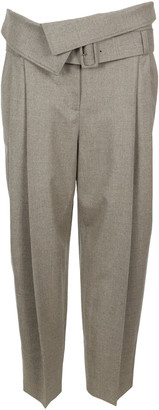 Stella McCartney Belted Cropped Pants