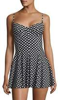 Norma Kamali Underwire Swim Dress