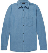 A.p.c. - Slim-fit Washed-denim Shirt