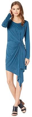 Young Fabulous & Broke Maisie Dress (Electric Blue) Women's Clothing