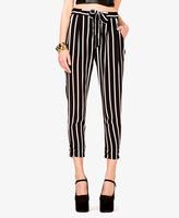 FOREVER 21 Striped Drawstring Harem Pants