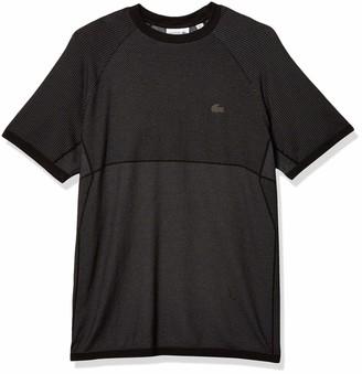 Lacoste Men's Motion Short Sleeve Colorblock Quick Dry T-Shirt