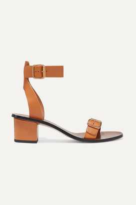 Atelier ATP Carmen Leather Sandals - Camel