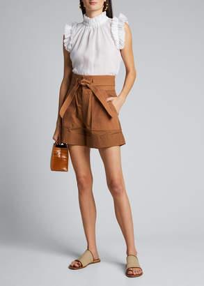 Sea Gabriette Combo Tie-Waist Shorts