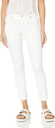Lucky Brand Women's MID Rise AVA Skinny Jean in White