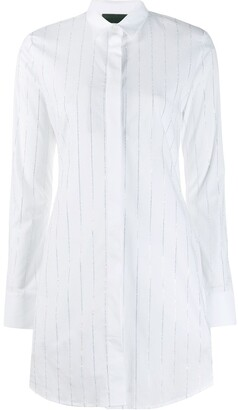 Philipp Plein shirt with crystal embellishments