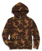 Ralph Lauren Toddler's, Little Boy's & Boy's Camo Hooded Sweatshirt