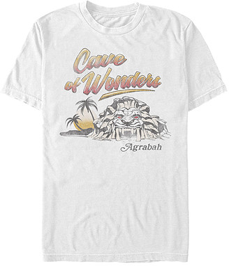 Fifth Sun Tee Shirts WHITE - Aladdin White 'Cave of Wonder' Tee - Adult
