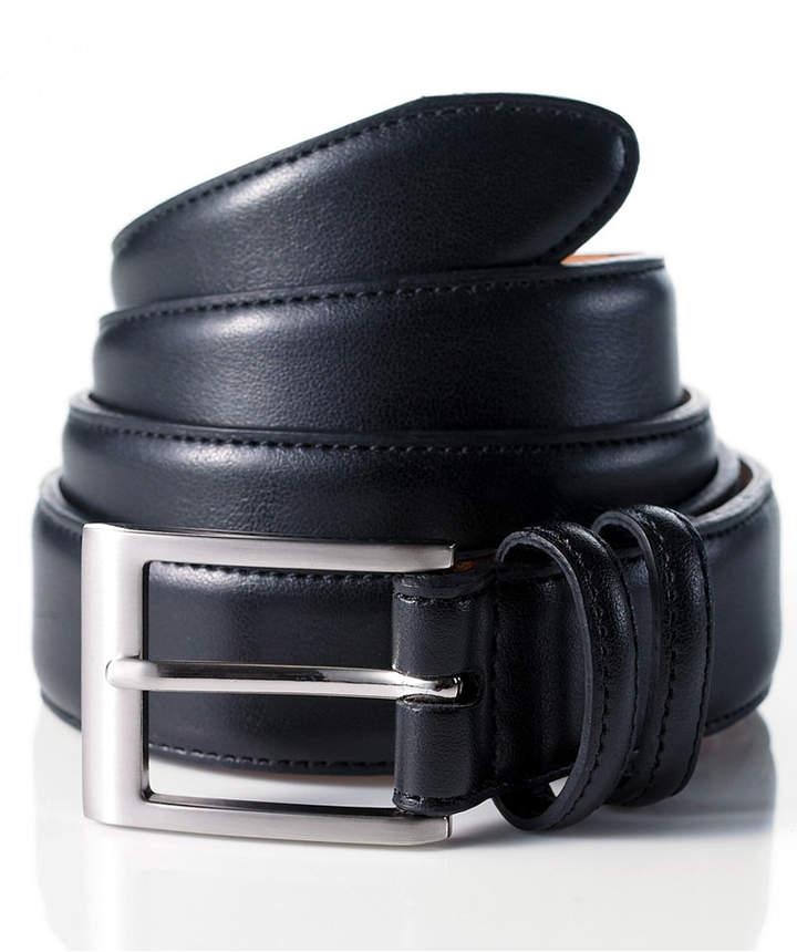 Club Room Leather Dress Belt