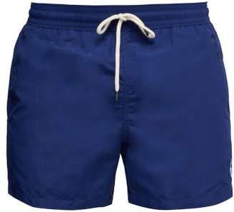 Polo Ralph Lauren Slim Fit Logo Embroidered Swim Shorts - Mens - Navy
