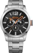 BOSS ORANGE Hugo 1513238 47mm Silver Steel Bracelet & Case Mineral Men's Watch