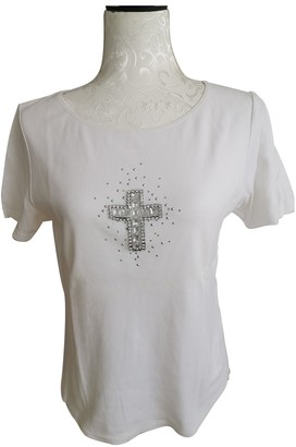 Nice Connection White Cotton Top for Women