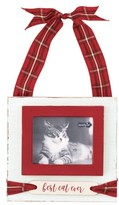 Mud Pie Best Cat Ever Hanging Frame Ornament