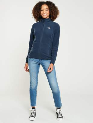 The North Face 100 Glacier Full Zip - Navy
