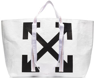 Off-White Arrow Print Tote Bag