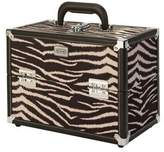 S.O.H.O New York Zebra Hard Beauty Case