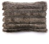 JLO by Jennifer Lopez Center Stage Faux Fur Baigao Throw Pillow