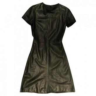 Gianni Versace Black Leather Dress for Women Vintage