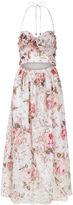 Zimmermann Pink Floral Cotton Eden Dress
