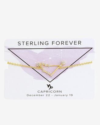 Express Sterling Forever Gold Capricorn Constellation Bolo Bracelet